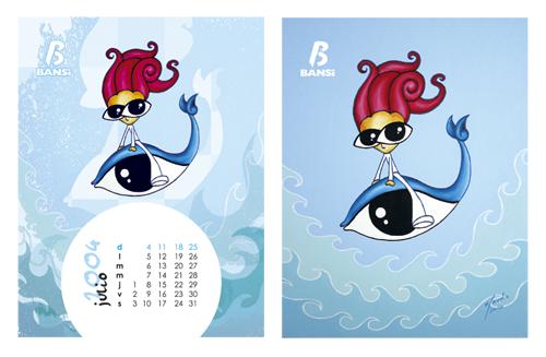 国外日历版式设计图片